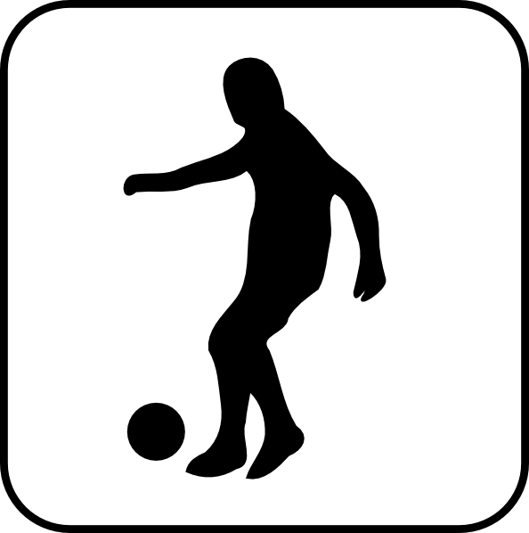 594x598 Football Clip Art