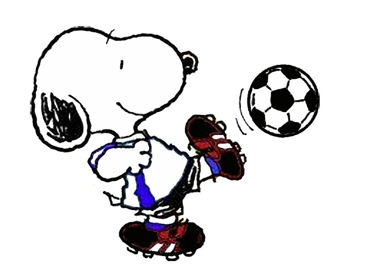 736x552 Snoopy clipart soccer