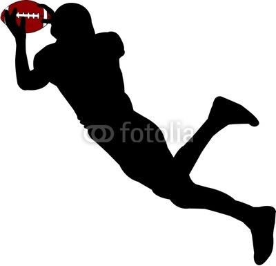 400x385 Flag Football Player Clipart