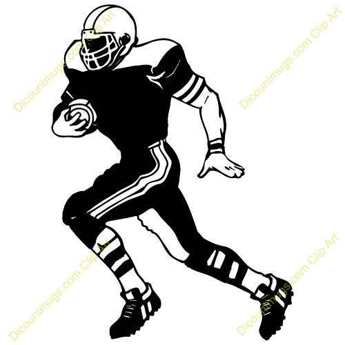 500x500 Football Player Silhouette Clip Art Football Player Catching
