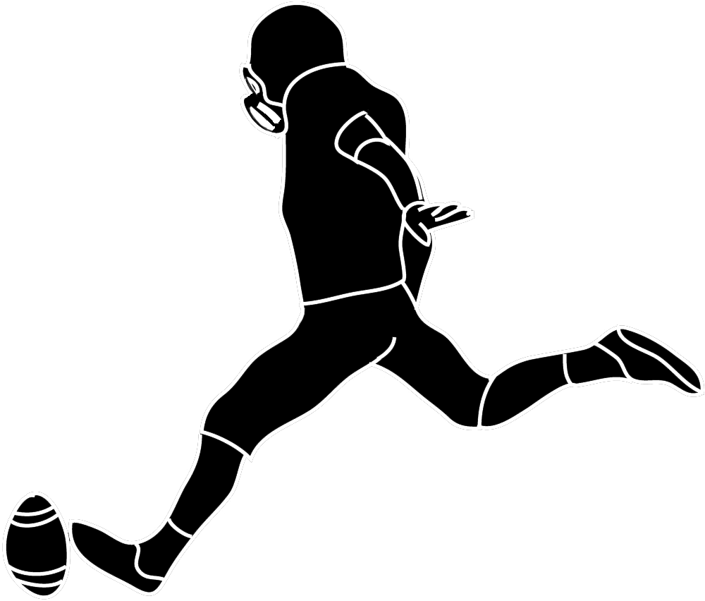 1000x852 Football Silhouette Clipart