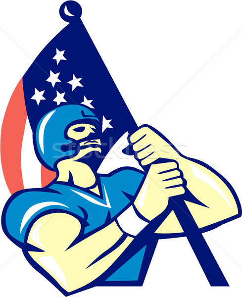 489x600 American Football Player Stock Photos, Stock Images And Vectors