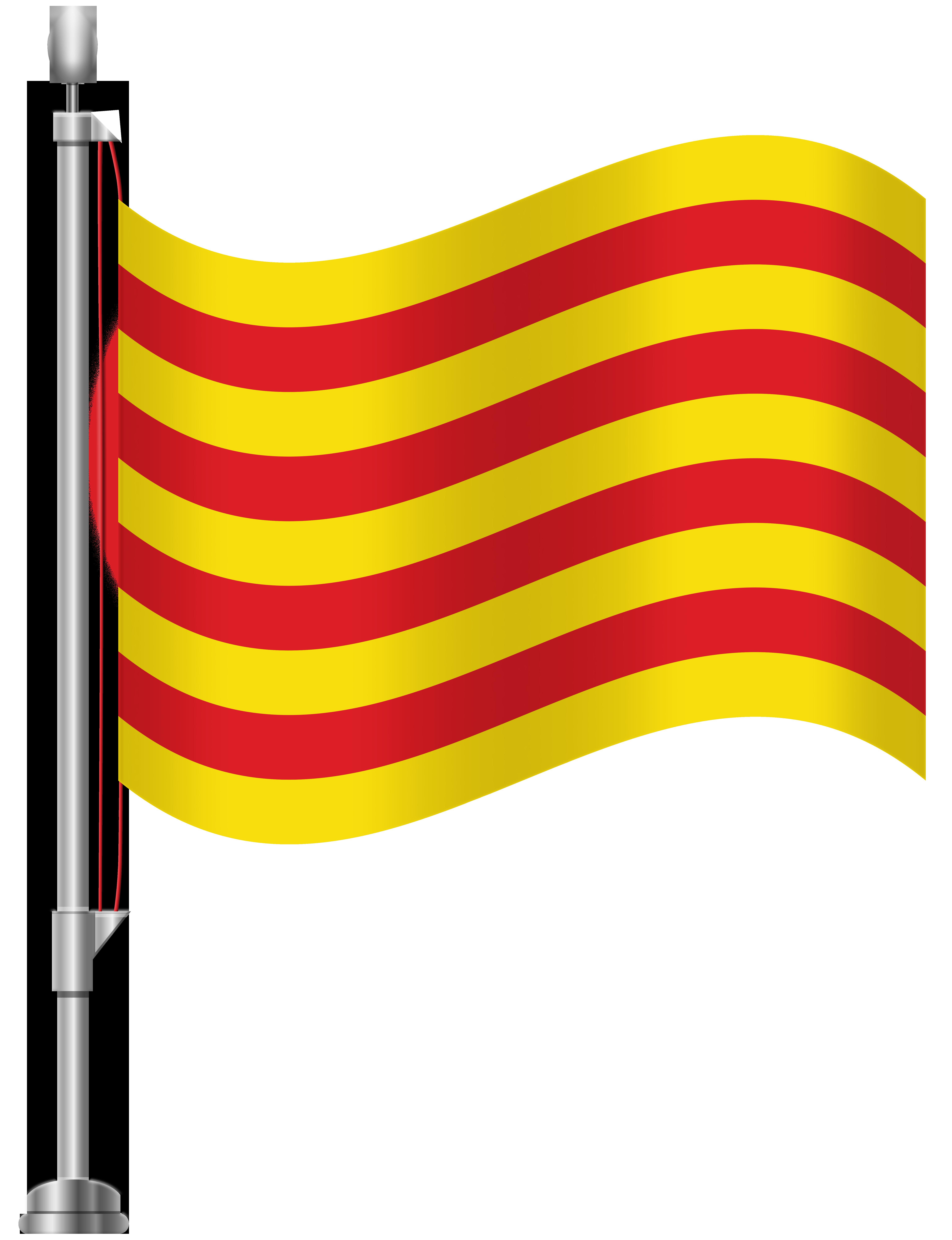 6141x8000 Catalonia Flag Png Clip Art