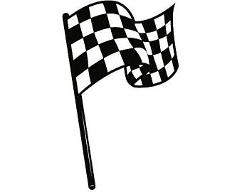340x270 Checkered Flag Svg Etsy