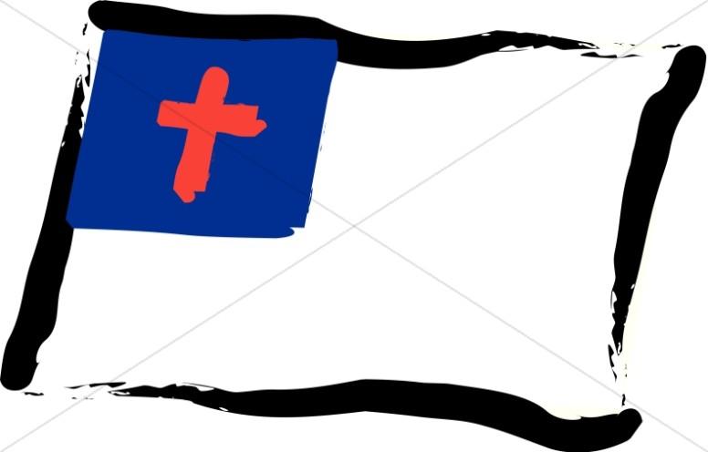 776x496 Christian Flag Clip Art
