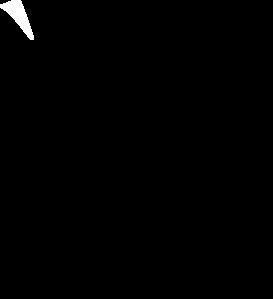 273x299 Flag Outline Clip Art