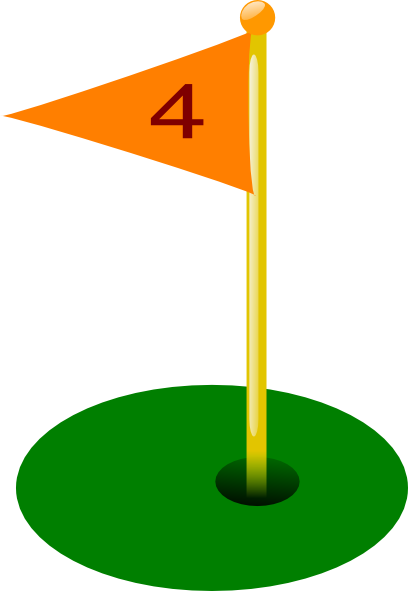 408x591 Golf Flag Clip Art Clipart Panda