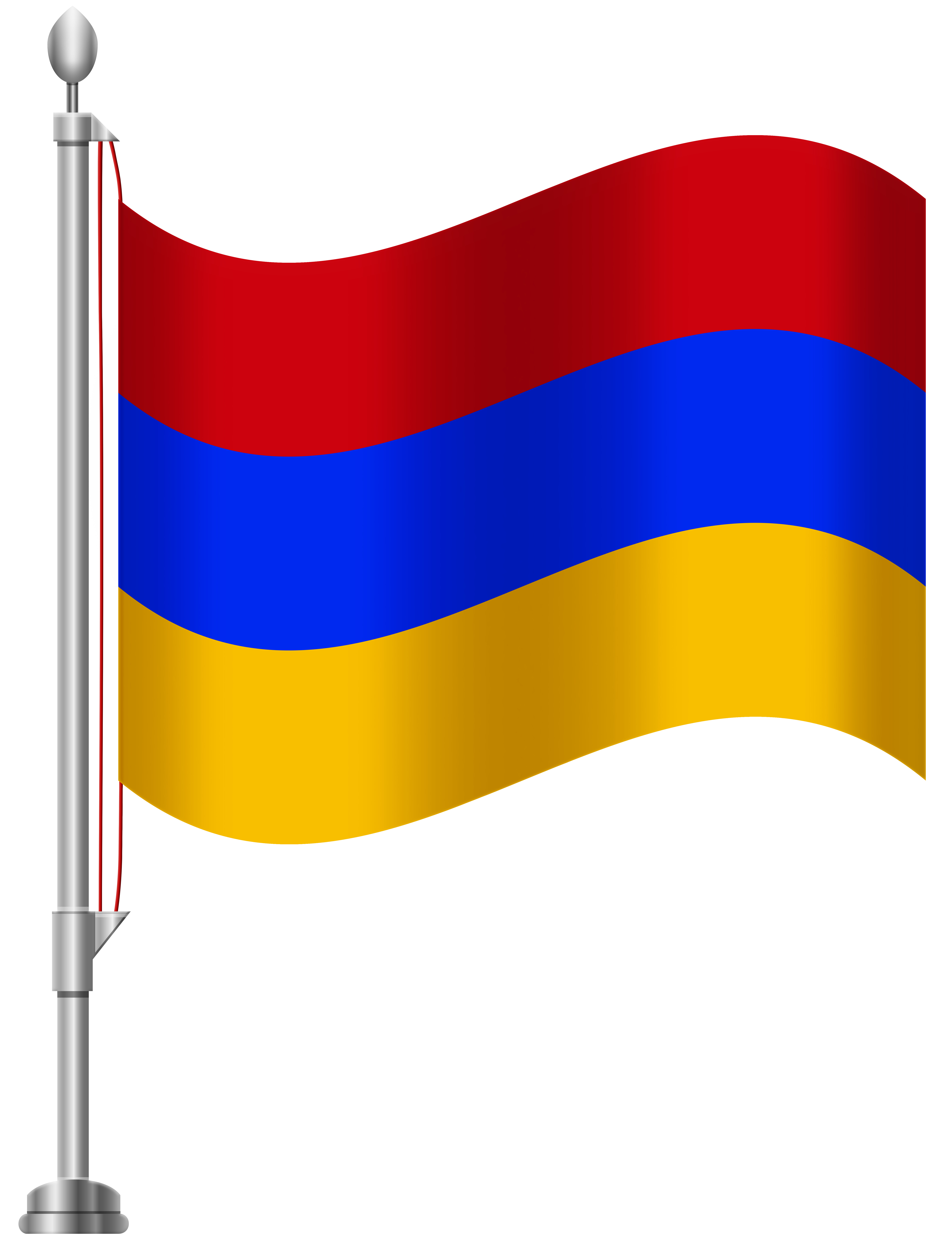 6141x8000 Armenia Flag Png Clip Art