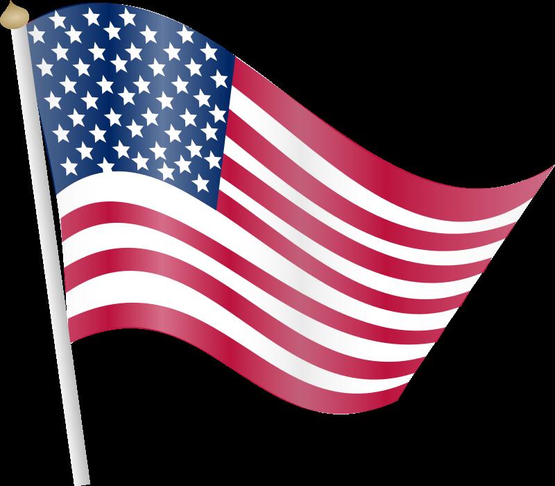 800x700 Clip Art Us Flag