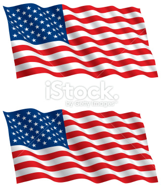 327x380 Flying American Flag Clip Art