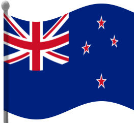263x242 New Zealand Flag Waving Clip Art Download