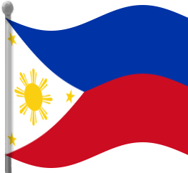 263x242 Philippines Flag Waving Clip Art Download