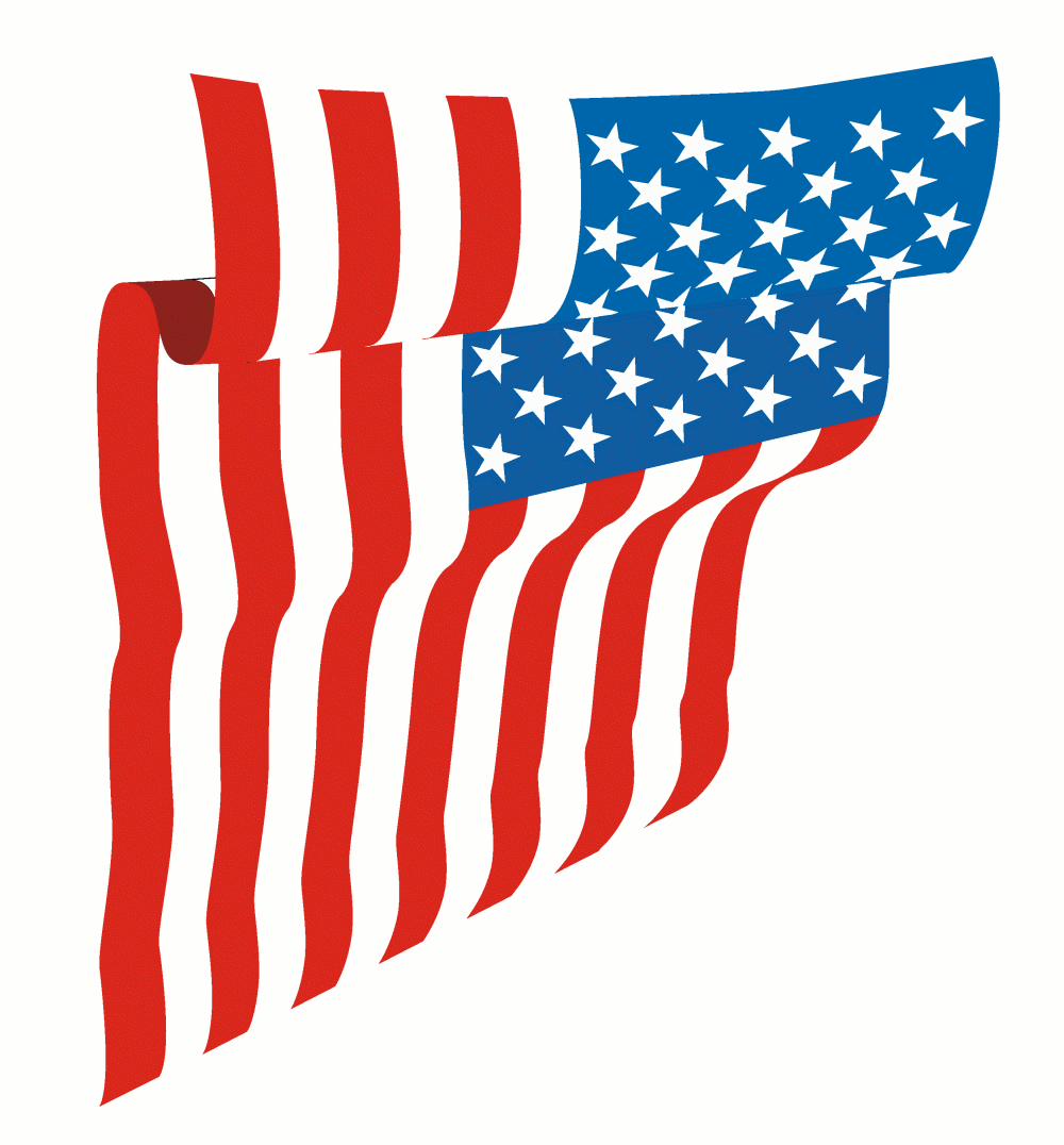 1000x1076 Us Flag American Flag Waving Clipart Kid 2