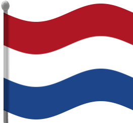 263x242 Netherlands Flag Waving