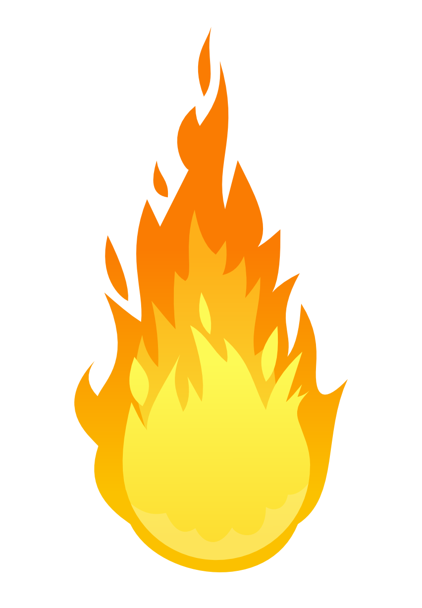 852x1227 Fire Clip Art Free Download Clipart Images
