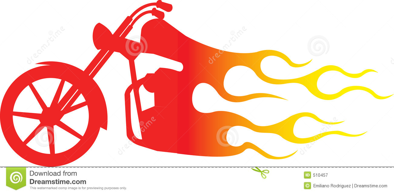 1300x640 Flames Clipart Harley