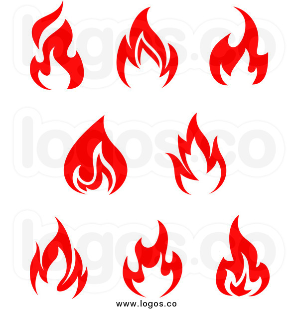 600x620 Flames Clipart Torch Fire