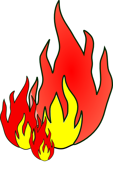 378x597 Flames Fire Flame Clip Art Free Vector For Free Download About