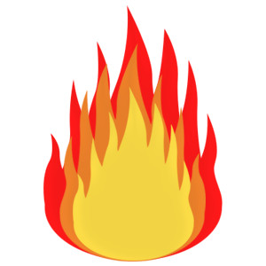 300x300 Flames Flame Clip Art Free Clipart Images 3