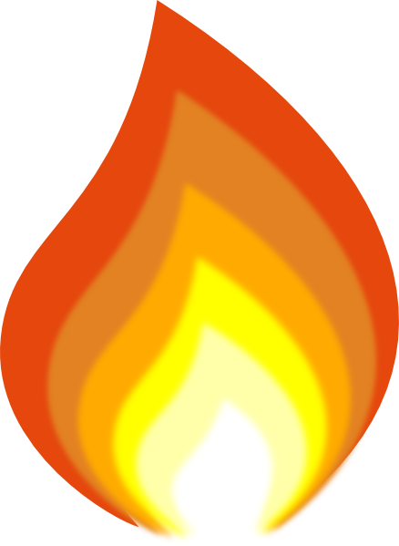 438x599 Free Flame Clipart