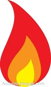 176x300 Candle Flame Clipart