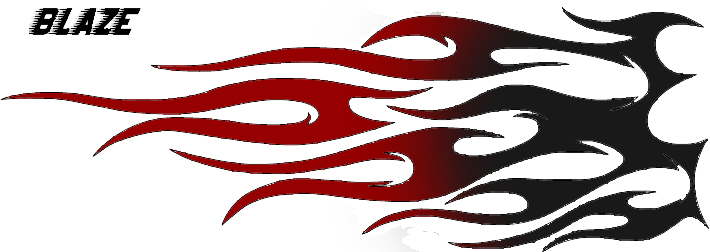 710x252 Free Tribal Flame Clipart