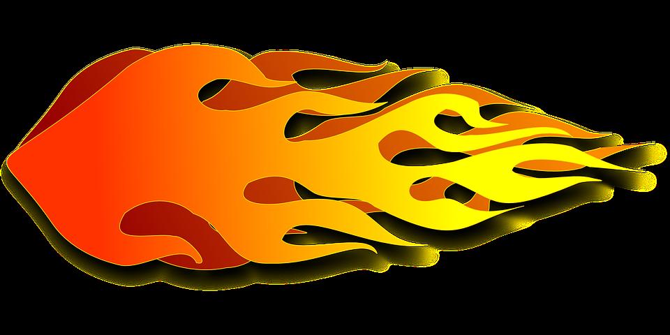 960x480 Race Car Clipart Flame