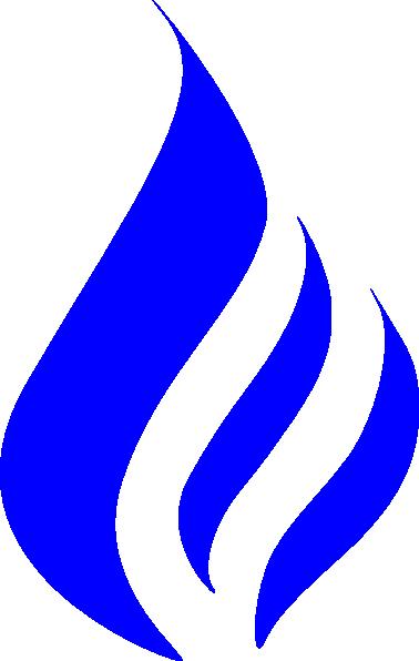 378x596 Blue Flame Clip Art