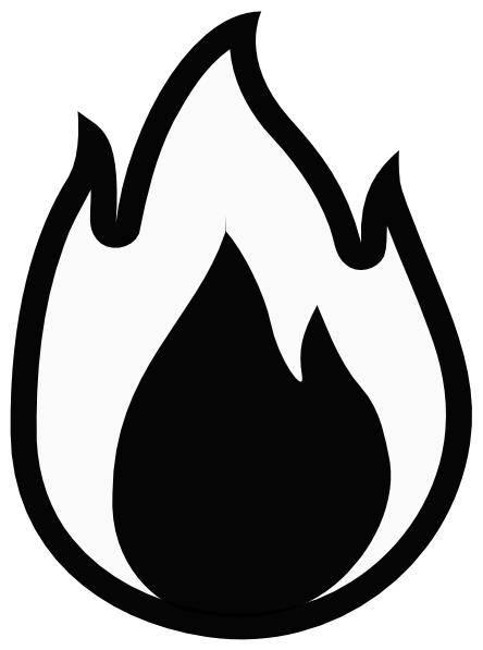 444x597 Flame Clip Art