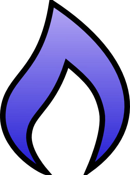 444x597 Blue Flame Png, Svg Clip Art For Web