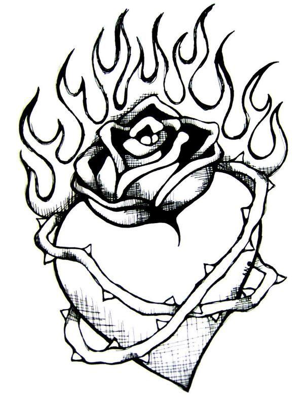 600x797 Drawn Sword Flame Heart
