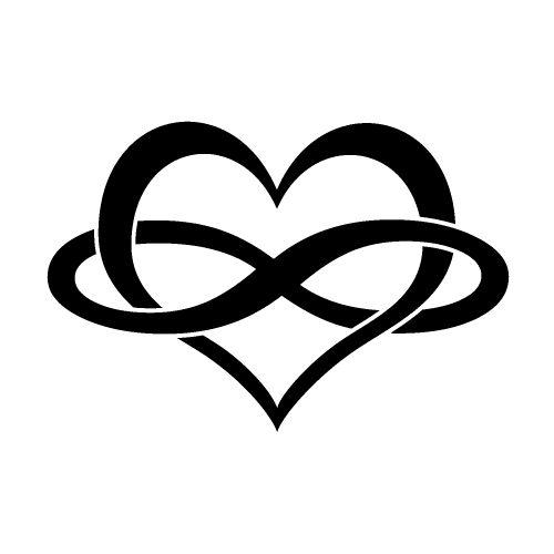 500x500 Heart And Infinity Symbol Tumblr Family Tattoos