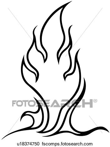 352x470 Clipart Of , Flame, Vehicle Graphics, Graphic, Vehicle, Hot Lix