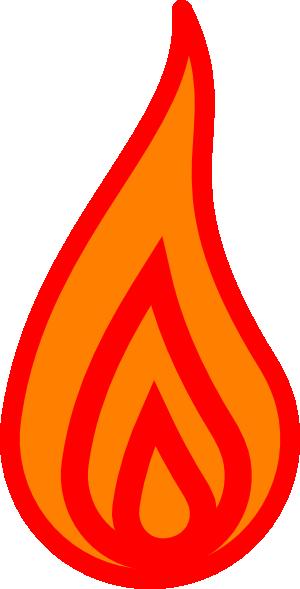 300x589 Flame Clip Art