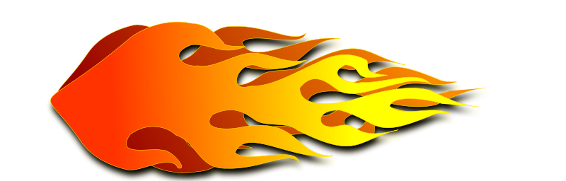 800x256 Flames Flame Clip Art Free Clipart Images 3