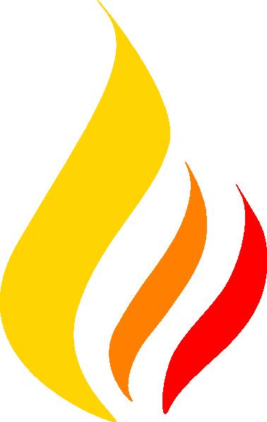 378x596 Gold Flame Clip Art