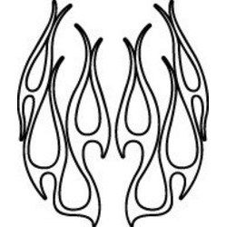 Flame Outline Clipart