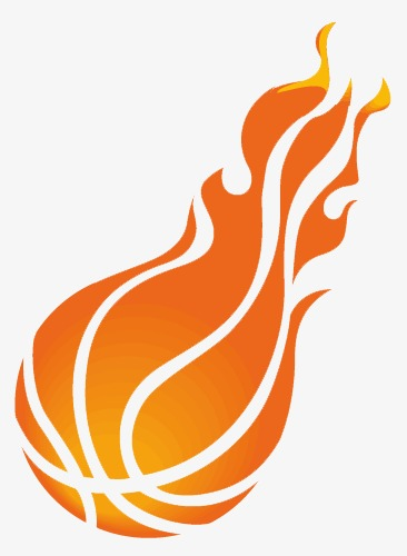 366x500 Flame Basketball Png, Vectors, Psd, And Icons For Free Download
