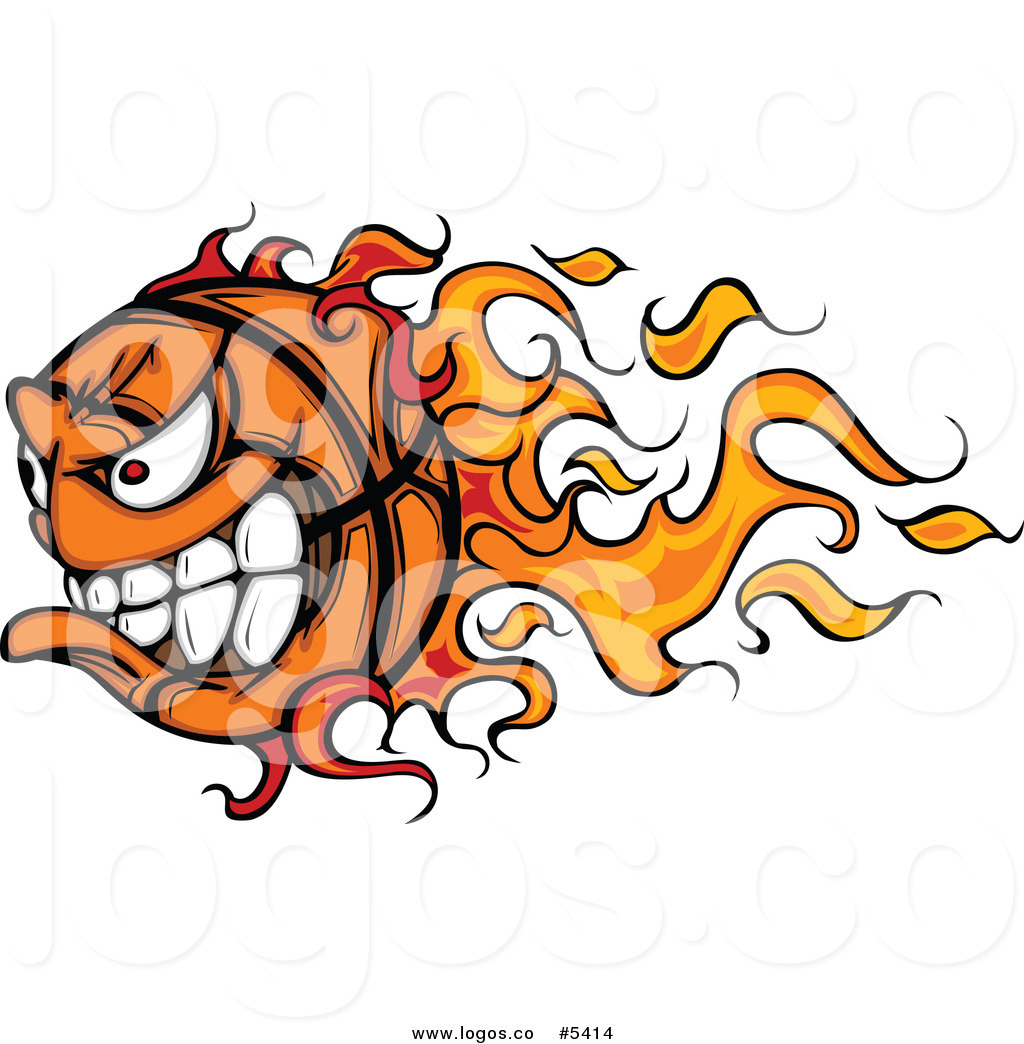 1024x1044 Royalty Free Vector Of A Logo Of An Aggressive Fast Flaming