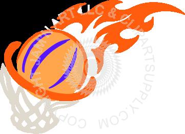 361x261 Basketball With Hoop
