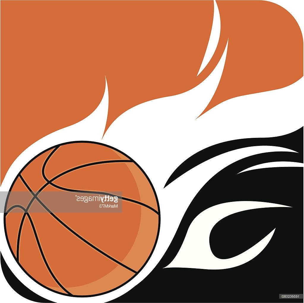 1024x1022 Best 15 Flaming Basketball Ball Logo Vector Drawing