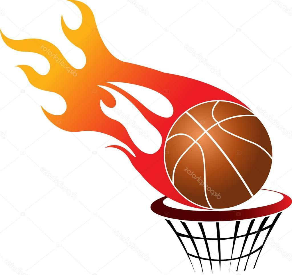 1024x964 Best Hd Stock Illustration Flaming Basketball Photos