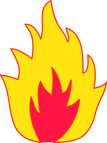 Flames Background Clipart