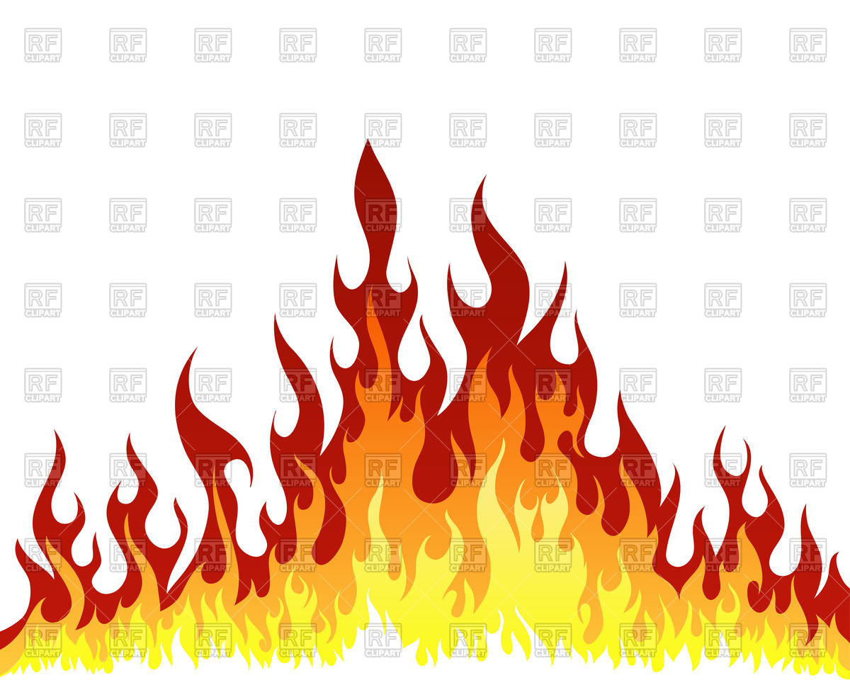 1200x960 Fire Flame Background Royalty Free Vector Clip Art Image