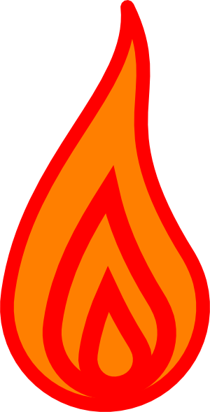 300x589 Flames Clipart Powerpoint