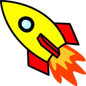 298x297 Flames Clipart Rocket