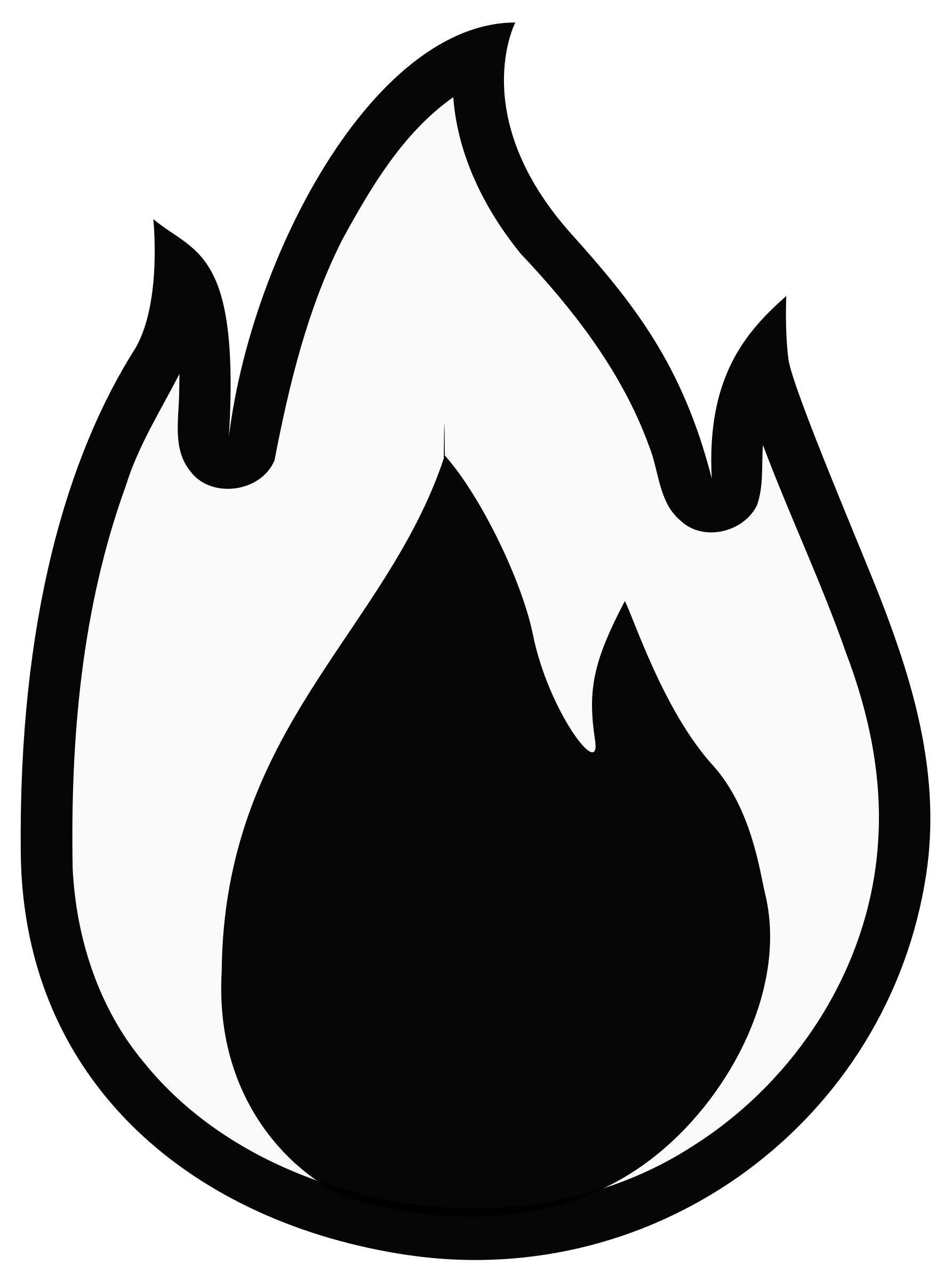 1785x2400 Flames Clipart Small
