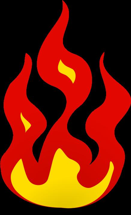437x715 Flames Racing Flame Clip Art