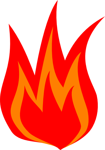 420x597 Red Fire Logo Clip Art