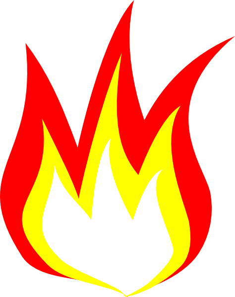 474x598 Clipart Of Flame